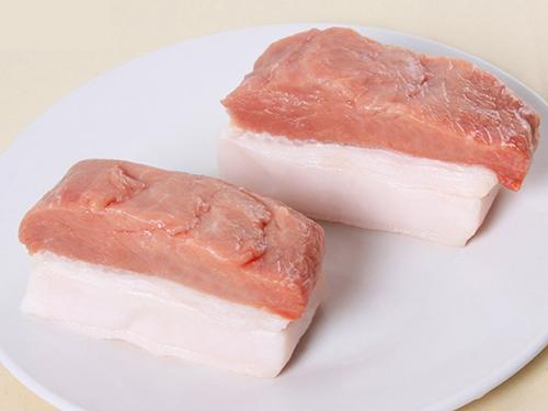 带膘里脊肉